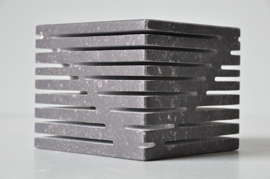 B076 Belgisch hardsteen 12 x 12 x 10 cm